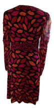Load image into Gallery viewer, Diane Von Furstenberg Lip Dress Size 2 in Very Good Condition