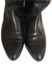 Load image into Gallery viewer, Austin Reed Options Black Leather Boots  Size 6 1/2