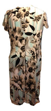 Load image into Gallery viewer, Anya Madsen NWT Turq/brown/black Dress Size 16