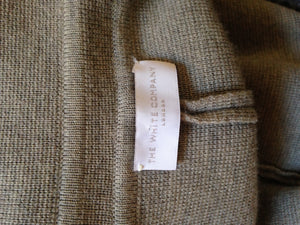 The White Company Grey Coat Size Medium