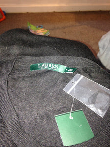 Ralph Lauren Lauren Label fine knit sweater size medium