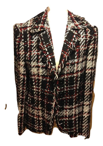 Betty Barclay black/red/white jacket Size GB 14