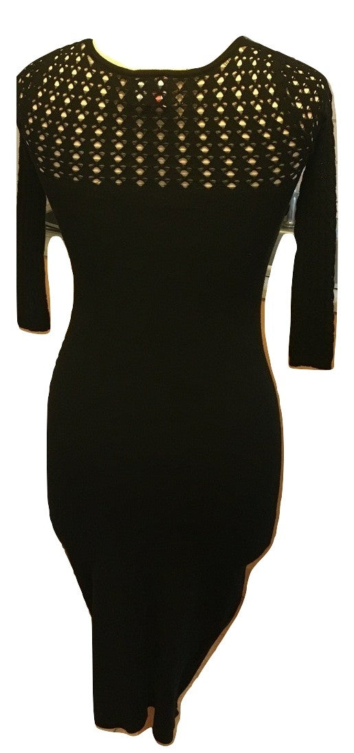 Red Valentino Black Dress Size USA Small
