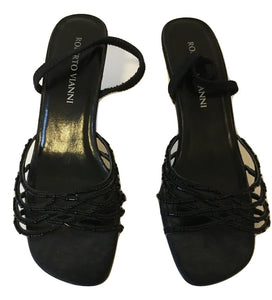 Robert Vianni Evening Sandals Size 38