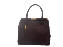 Load image into Gallery viewer, Dark Brown new leather bag