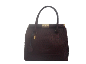Dark Brown new leather bag