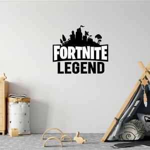 Fortnite Legend Wall Sticker