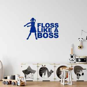 Floss Like A Boss Fortnite Wall Sticker