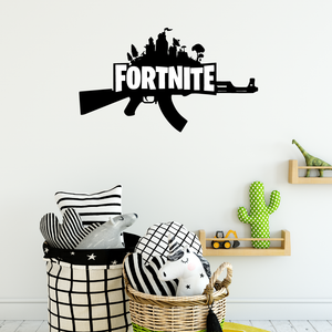 Fortnite Gun Boys Wall Sticker