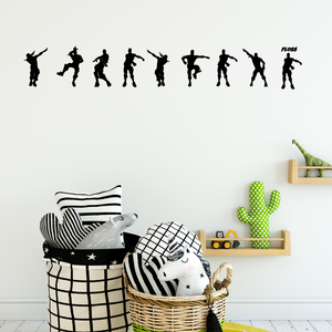 Floss Fortnite Character Wall Sticker