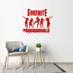 Fortnite Wall Sticker Squad Goals