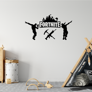 Fortnite Dabbing Logo Wall sticker
