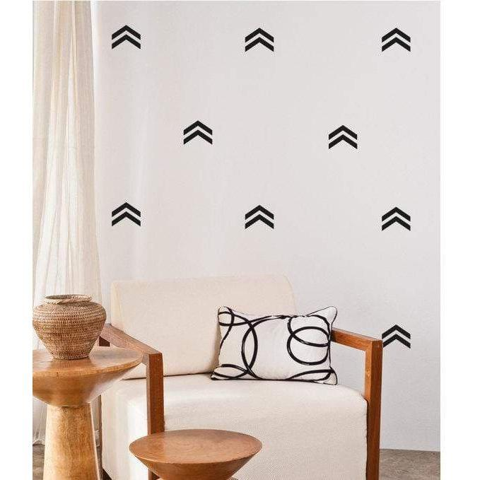 Home Wall Decals Double Arrows Wall Stickers Home Wall Art Interior Design Nursery Office Stickers Wall Art Decals