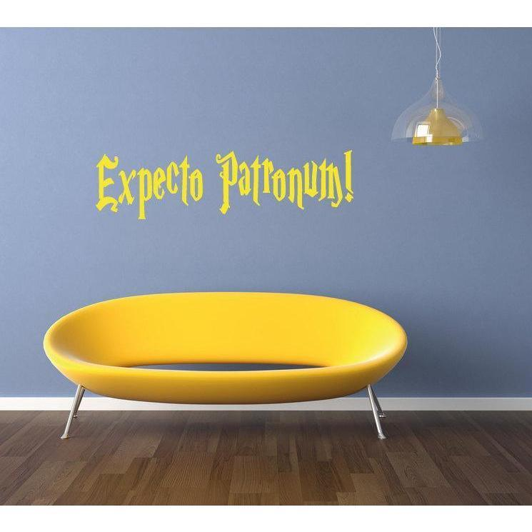 Harry Potter Expecto Patronum Spell Wall Decal Sticker Quote For Childrens/Kids Rooms/Home Decor Christmas Gift