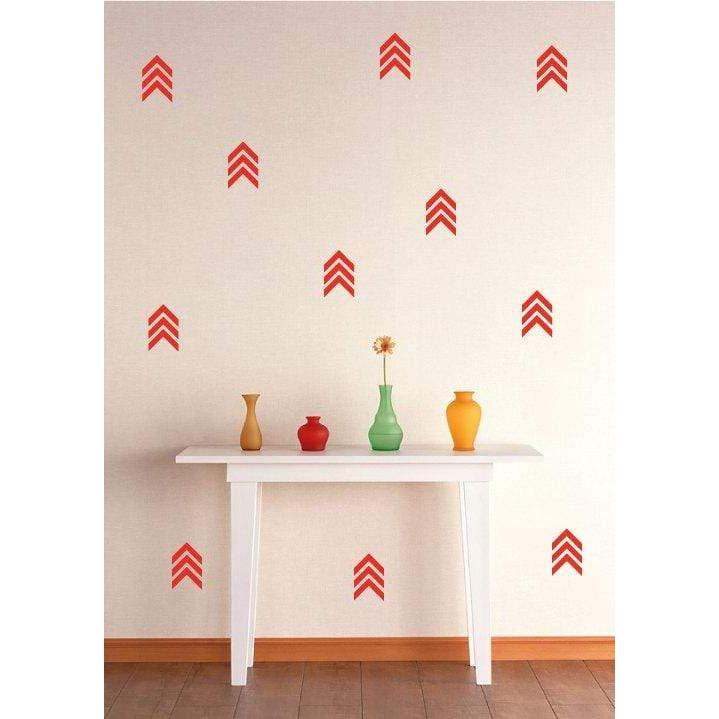 44 Triple Arrow Wall Stickers, Design, Removable Wall Decals, Home Wallpaper, Decoration, Home Decor, Murals, Gift Christmas Gift