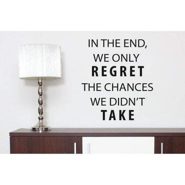 Motivational Wall Sticker Quote - Vinyl Wall Art Decal For Home & Office Christmas Gift