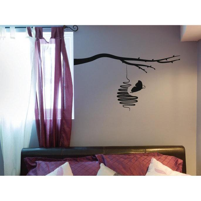 Nursery/Childrens Room Butterfly Tree Wall Decal Sticker, Large Christmas Gift