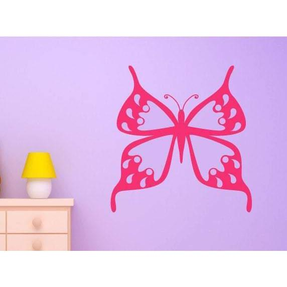 Butterfly Wall Decal/Wall Art Sticker - Vinyl Girls/Nursery Wall Decal, Wallpaper, Mural Christmas Gift