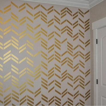 Wall Stickers, Wall Decals, 108 Gold Lines, Wall Art, Gold Wall Stickers, Gold Wall Decals, Home Decor, Wallpaper, Nursery Wall Decals
