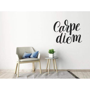 Wall Decal/Wall Sticker Quote - Carpe Diem - Wall Art Quote, Home Decor, Mural, Wallpaper Christmas Gift