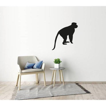 Animal Wall Stickers - Monkey Vinyl Wall Art Decal Christmas Gift