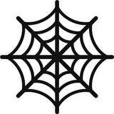 Spider Web Halloween Decoration Window Stickers Window Decals Wall Stickers/Decals Halloween Gift Decor Pack Of 5 White Christmas Gift