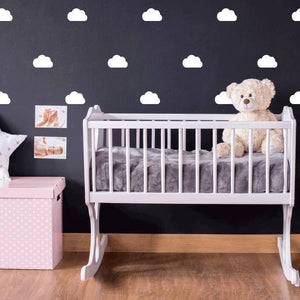 45 Cloud Wall Stickers, Nursery Wall Stickers, Nursery Wall Decals, Nursery Wall Art, Wall Decor, Cloud Stickers, Cloud Decals, Mini Clouds