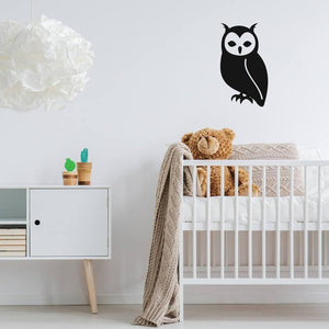 Owl Wall Decal, Owl Wall Decals, Nursery Wall Decal, Nursery Wall Sticker, Nursery Decor, Animal Wall Decal, Owl Decor, Wall Stickers, Art