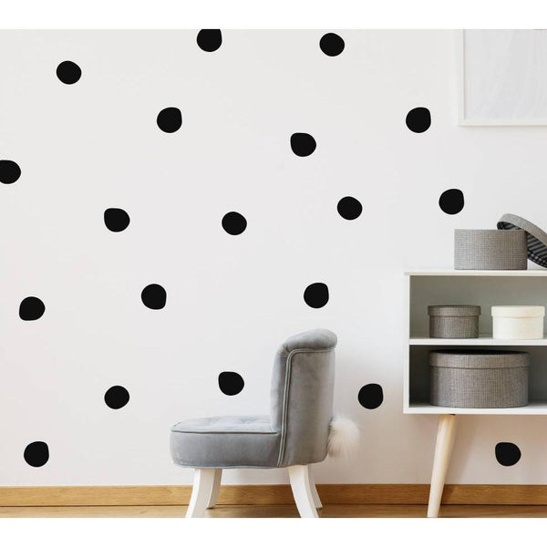 120 Peel And Stick, Polka Dot Decals, Polka Dot Stickers, Polka Dots, Wall Stickers, Home Wall Decor, Irregular polka dots, Wall Art, Home