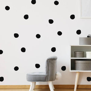 Polka Dot Wall Decals Wall Stickers Home Decor For Nursery Kids Bedroom Peel And Stick Wall Art (36 Colours)