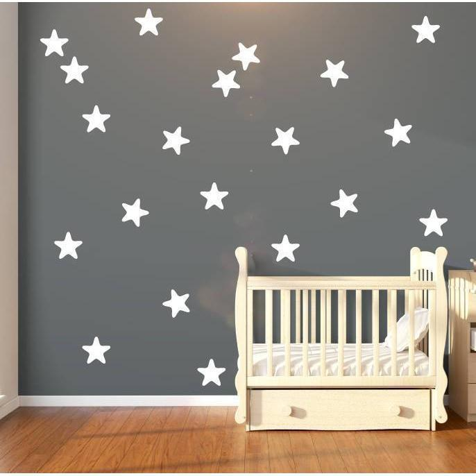 30 Large Star Fish Shape Star Wall Stickers Star Wall Decals Nursery Wall Stickers Nursery Wall Decals Nursery Decor Wall Decor Wall Art