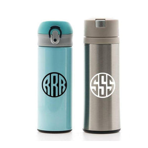 Bottle Decal, Monogram Decal, Cup Decal, Tumbler Decal, Yeti Monogram Decal, Personalized Decal, Custom Decal, Bottle Name Sticker, Initial