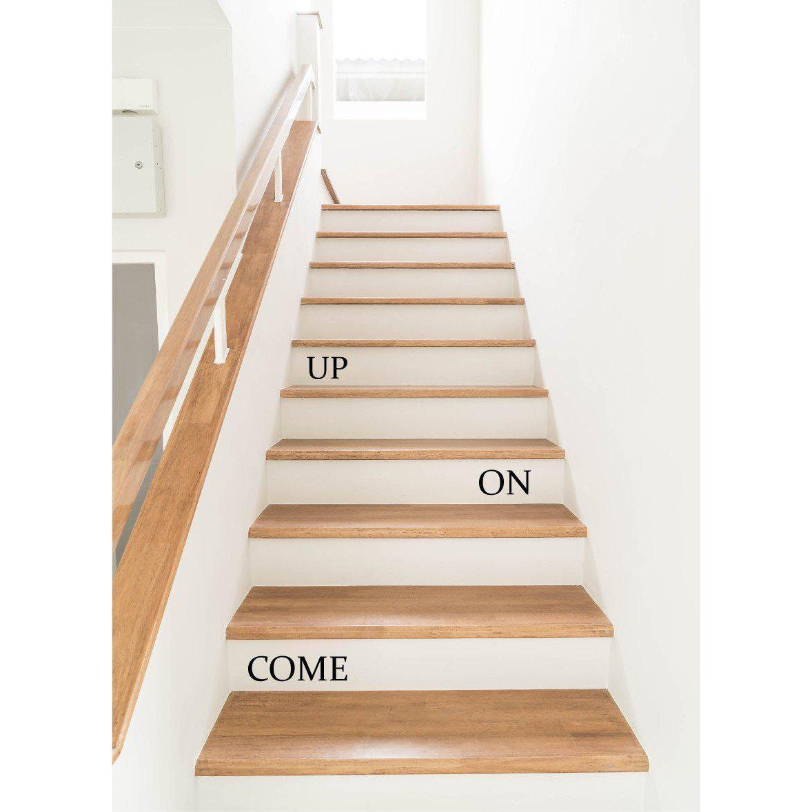 Stair Wall Stickers Stairs Wall Decals Quotes Come On Up Home Decor Vinyl Stickers For Stairs Art For Home Office Stair Riser Decals