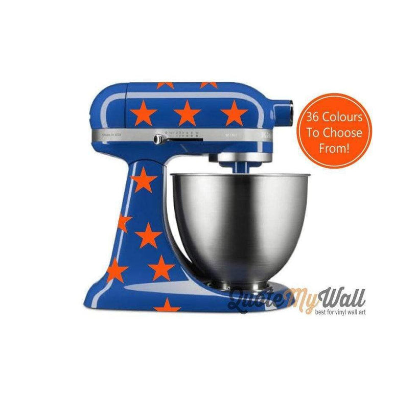 Kitchen Aid Decals, Mixer Decals, Kitchen Mixer Decals, Star Decals, Vinyl Decals, Vinyl Stickers, Mixer Stickers, Kitchenaid Decals, Stars