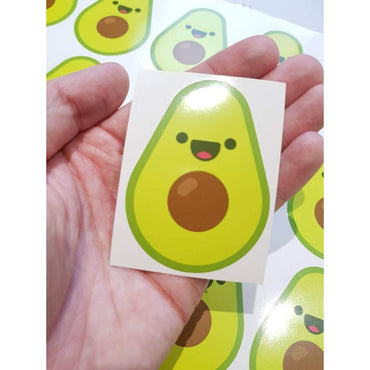 Sticker Bomb, Avocado Sticker, Avocado Decals, Avocado Laptop Decal, Macbopok Decal, Vegan Sticker, Vegan Stickers, Vegan Gift, Vegan Decal