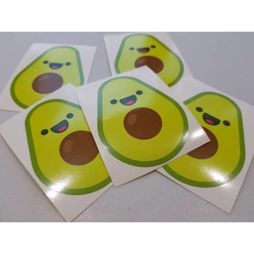 Avocado Sticker, Sticker Bomb, Avocado Decal, Avocado Laptop Decal, Macbopok Decal, Vegan Sticker, Vegan Stickers, Vegan Gift, Vegan Decal