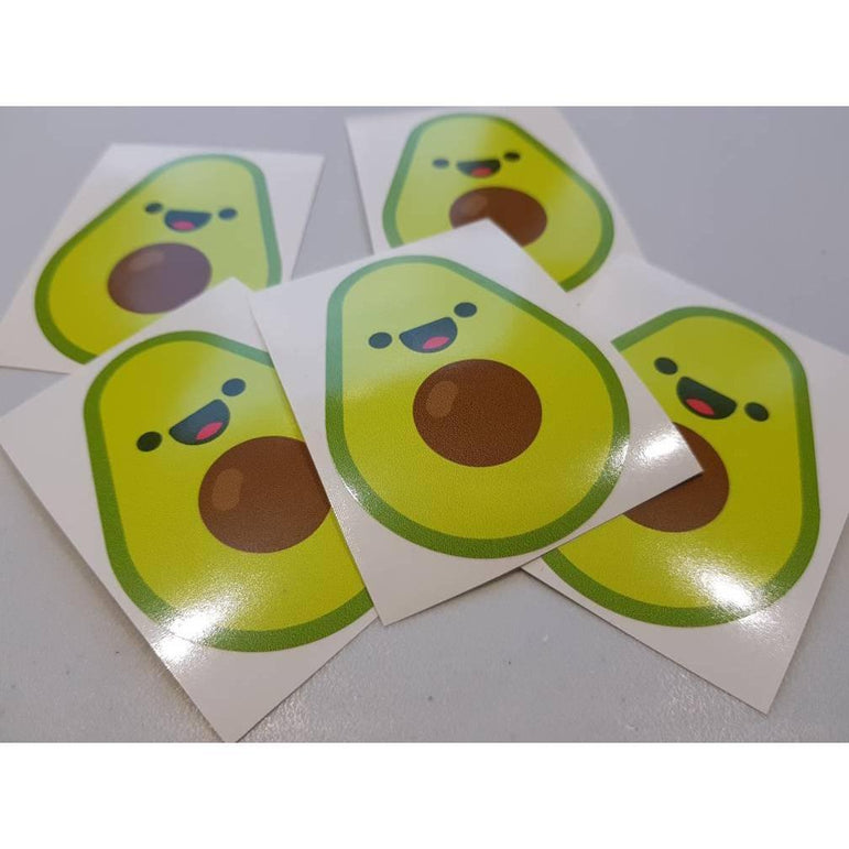 Vegan Bumper Sticker, Avocado Sticker, Sticker Bomb, Avocado Decal, Macbopok Decal, Vegan Sticker, Vegan Stickers, Vegan Gift, Vegan Decal