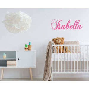 Customised Name Wall Decal, Custom Wall Stickers, Name Wall Sticker, Name Wall Decal, Kids Wall Sticker, Nursery Wall Decal, Nursery Sticker
