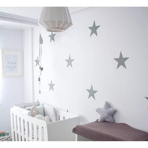 12 Extra Large Star Wall Stickers Wall Decals Nursery Wall Art Decor Peel And Stick Decoration Murals Wallpaper