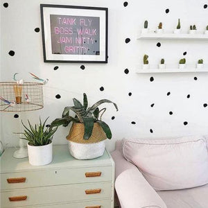 Polka Dot Wall Decal, Polka Dot Stickers, Polka Dot Decals, Irregular Polka Dots, Wall Decor, Wall Art, Wall Decals, Wall Stickers, Dots 70
