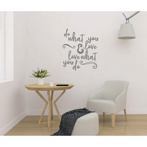 Wall Decal Quote, Do What You Love, Wall Sticker Quote, Wall Decal Quote, Motivational Wall Sticker, Positive Wall Decal, Wall Art, Slogan-QuoteMyWall