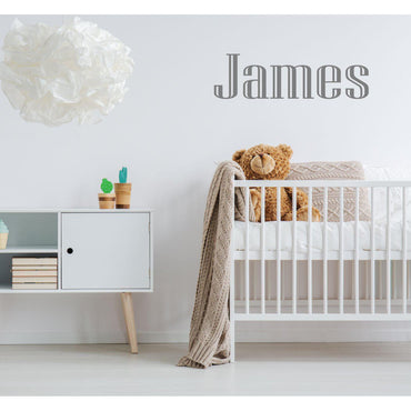 Custom Name Wall Decal, Personalized Wall Sticker, Personalised Wall Decal, Name Decal, Name Sticker, Kids Wall Stickers, Design You Own