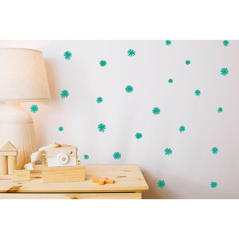 Spike Ball Wall Decal Stickers Home Decor Wall Art For Living Room Office Nursery Bedroom Wall Stickers 36 Colours