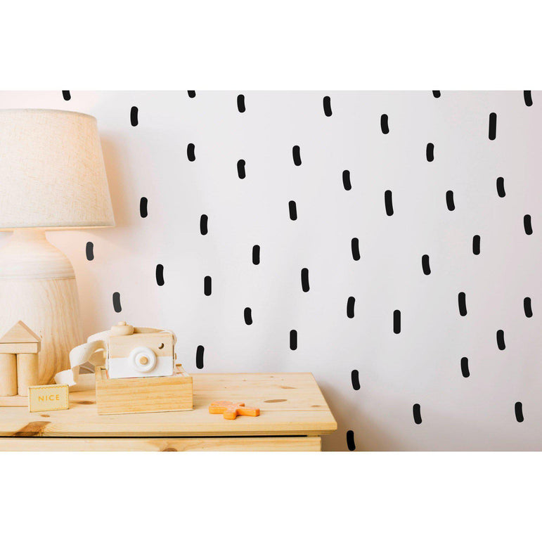 Sprinkle Wall Stickers Wall Decor Artwork Peel And Stick Modern Wall Decals Interior Design Idea Gifts Home Decoration 36 Colours