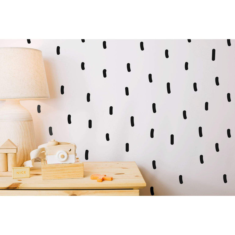 144 Sprinkle Wall Decals Line Wall Stickers Home Wall Art Peel And Stick Wallpaper Alternative Interior Design Ideas 36 Colours