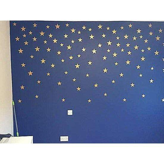 Gold Star Stickers, Gold Star Decals, Nursery Star Decals, Nursery Wall Art, Nursery Wall Stickers, Decals Nursery, Star Stickers, Star Wall-QuoteMyWall