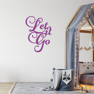 Disney Frozen Wall Sticker Let It Go
