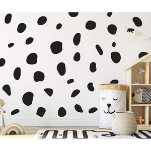 Large Animal Spot Polka Dot Wall Stickers 36 Pack