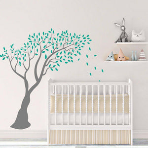 Large Over Hanging Tree Wall Sticker