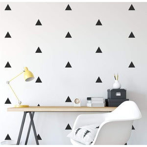 100 Triangle Shape Wall Stickers